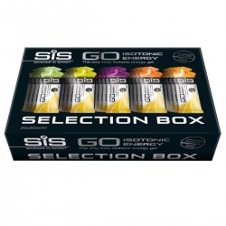 Набор гелей изотонических углеводных SIS Go Isotonic Energy Selection Box 20x60 ml